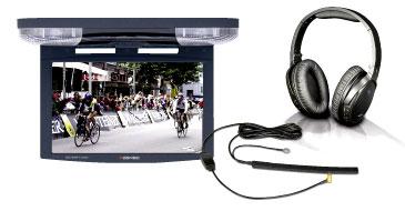 Multimediazubehör und Monitor